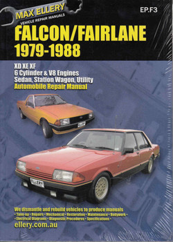 Ford Falcon / Fairlane XD, XE, XF 1979 - 1988 Workshop Manual - front