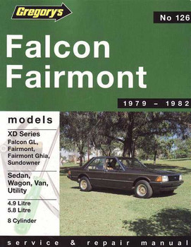 Ford Fairmont 1979 - 1982 Workshop Manual