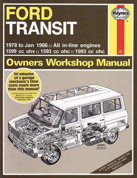 Ford Transit MK2 Petrol 1978 - 1986 Workshop Manual