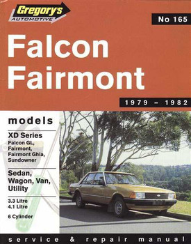 Ford Falcon Fairmont XD 1979 - 1982 Workshop Manual
