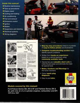 Ford Falcon & Fairlane 1979 - 1987 Workshop Manual