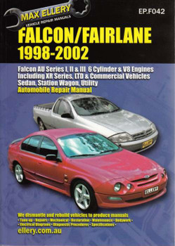 Ford Falcon, Fairlane AU I, II, III 1998 - 2002 Workshop Manual