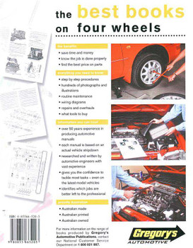 Holden Commodore VC Series 1980 - 1981 Workshop Manual