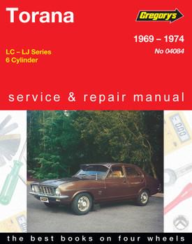 Holden Torana (69 - 74) Gregorys Repair Manual