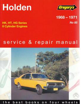Holden HK, HT, HG 8 Cylinder 1968 - 1971 Workshop Manual