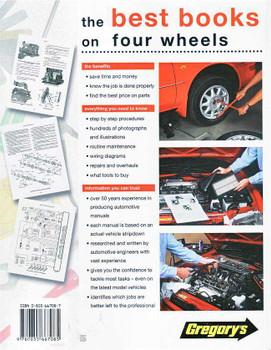 Holden Commodore & Toyota Lexcen V6 VN, VG 1988 - 1991 Workshop Manual