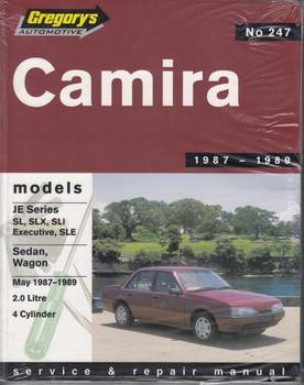 Holden Camira JE Series 1987 - 1989 Workshop Manual