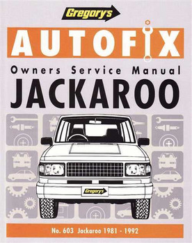 Holden Jackaroo 1981 - 1992 Workshop Manual