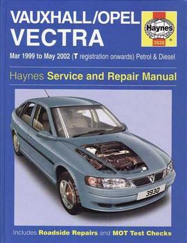 Holden Vectra (Vauxhall, Opel) 1999 - 2002 Workshop Manual