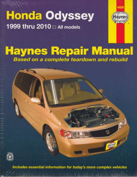 Honda Odyssey 1999 - 2010 Repair Manual