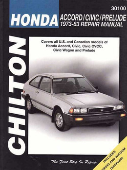 Honda Accord, Civic, Prelude 1973 - 1983 Workshop Manual