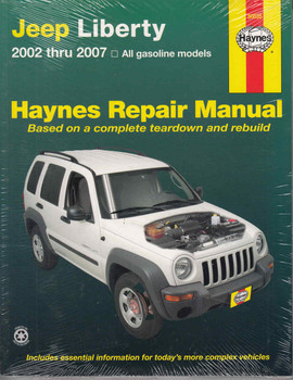 Jeep Liberty 2002 - 2007 Gasoline Models Workshop Manual  - front