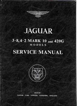 Jaguar 3.8, 4.2 Mark 10 and 420G Workshop Manual