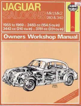 Jaguar  Mk1 & Mk2 Saloons 1955 - 1969 Workshop Manual