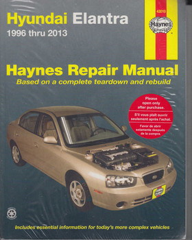 Hyundai Elantra (Lantra) 1996 - 2013 Workshop Manual