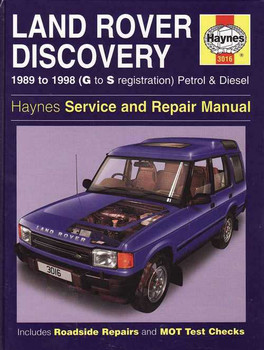 Land Rover Discovery 1989 - 1998 Workshop Manual