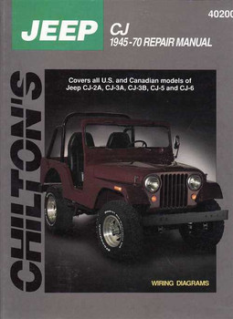 Jeep CJ 1945 - 1970 Workshop Manual