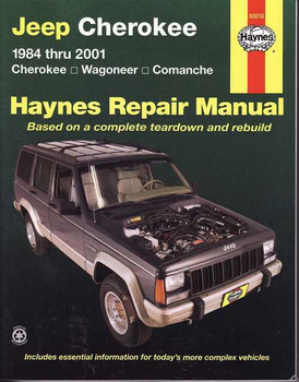 Jeep Cherokee, Wagoneer & Comanche 1984 - 2001 Workshop Manual