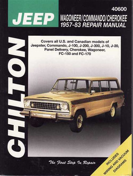 Jeep Wagoneer / Comanche/ Cherokee 1957 - 1983 Workshop Manual