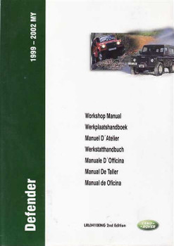 Land Rover Defender TD5 1999 - 2002 Workshop Manual