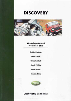Land Rover Discovery 1994 - 1999 Workshop Manual (2 Volumes)