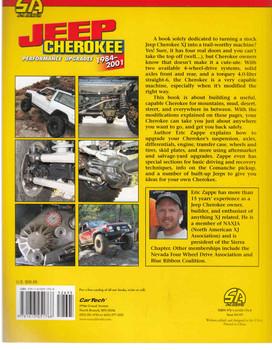 Jeep Cherokee Performance Upgrades 1984-2001 - Revised Edition ( 9781613251768) - back