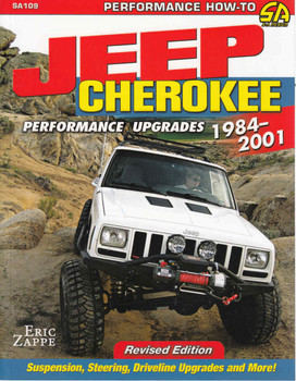 Jeep Cherokee Performance Upgrades 1984-2001 - Revised Edition ( 9781613251768) - front