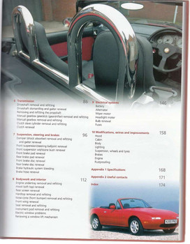 Mazda MX-5 (Miata / Eunos) 1989 - 2005 Renovation Manual