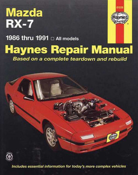 Mazda RX-7 1986 - 1991 Workshop Manual