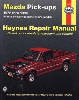 Mazda Pick-ups 1972 - 1993 Workshop Manual