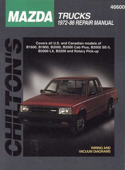 Mazda Trucks 1972 - 1986 Workshop Manual