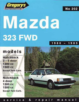 Mazda 323 FWD 1980 - 1985 Workshop Manual