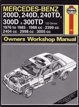Mercedes - Benz 200D, 240D, 240TD, 300D, 300TD 123 Series Workshop Manual