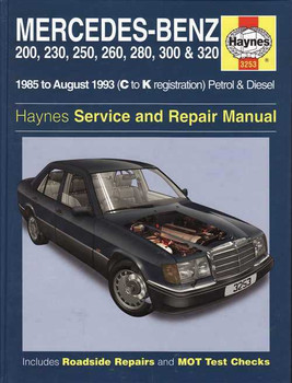Mercedes - Benz 124 Series 1985 - 1993 Workshop Manual