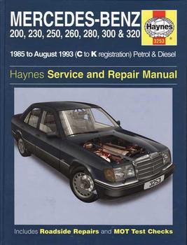Mercedes - Benz 124 Series 1985 - 1993 Workshop Manual