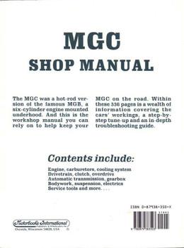 MGC 1967 - 1969 Workshop Manual