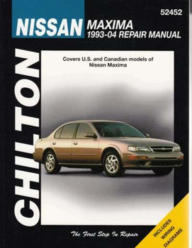 Nissan Maxima 1993 - 2004 Workshop Manual