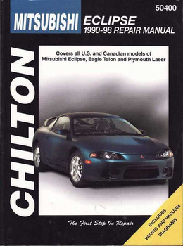 Mitsubishi Eclipse 1990 - 1998 Workshop Manual