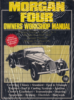 Morgan Four 1936 - 1981 Workshop Manual and Buying Portfolio