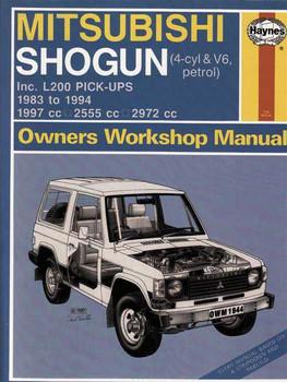 2003 mitsubishi pajero montero workshop repair service manual