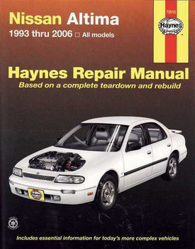 Nissan Altima (Bluebird) 1993 - 2006 Workshop Manual