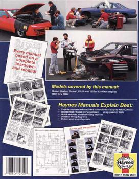 Nissan Bluebird Series 1, 2 & 3 1981 - 1986 Workshop Manual