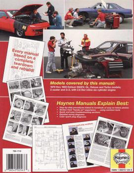 Nissan Datsun 280 ZX 1979 - 1983 Workshop Manual