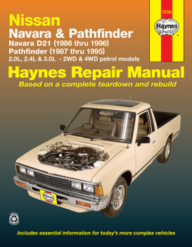 Nissan Navara (86-96) Nissan Pathfinder (87-95) Haynes Repair Manual