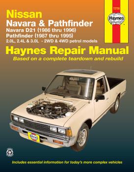 Nissan Navara (86-96) Nissan Pathfinder (87-95) Haynes Repair Manual