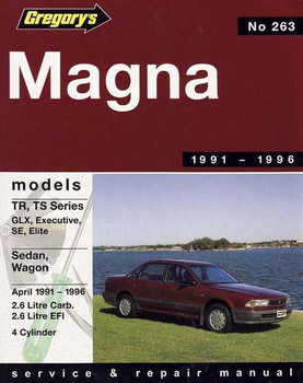 Mitsubishi Magna TR, TS Series 1991 - 1996 Workshop Manual