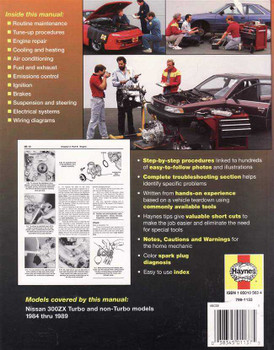 Nissan 300ZX 1984 - 1989 Workshop Manual