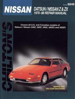 Nissan Datsun Z & ZX 1970 - 1988 Workshop Manual