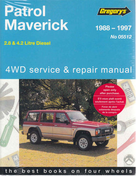 Nissan Patrol Ford Maverick Diesel Engines 1988 - 1997 Workshop Manual