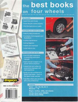 Nissan Patrol Ford Maverick Diesel Engines 1988 - 1997 Workshop Manual